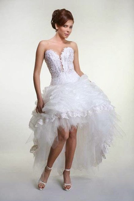 Violet High Low Dresses UK 10 Amazing High Low Wedding Dresses
