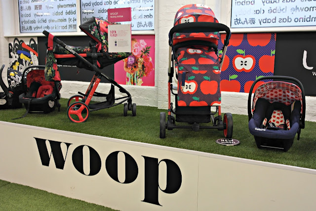 Cosatto Woop travel system in Appleseed
