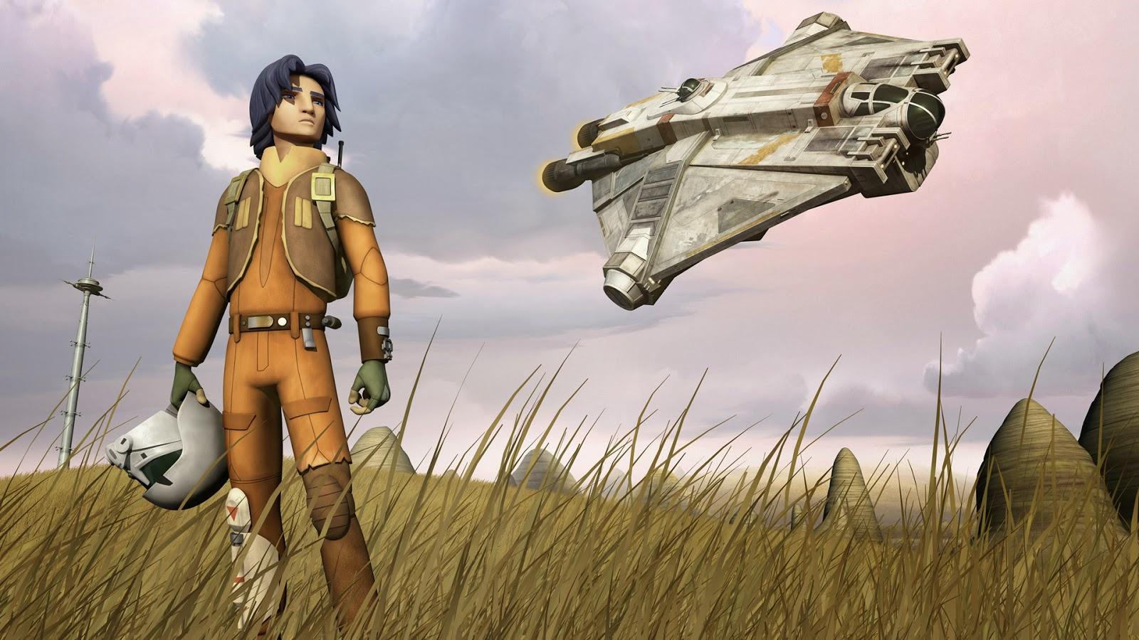 Chroniques en s rie star wars rebels la nouvelle s rie anim e se d voile - Dessin vaisseau star wars ...