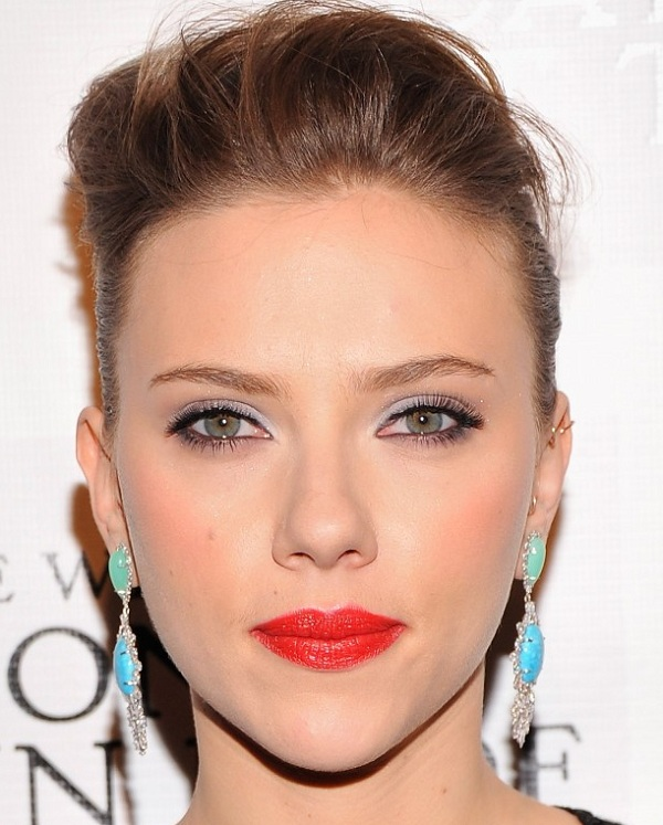 Scarlett Johansson makeup looks breakdown