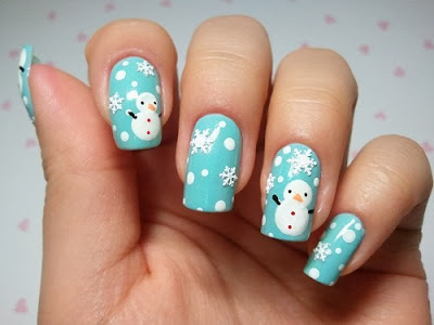 nail art christmas designs