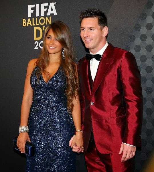 Wife of Lionel Messi photos