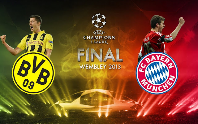Bayern vs Borussia final Champions