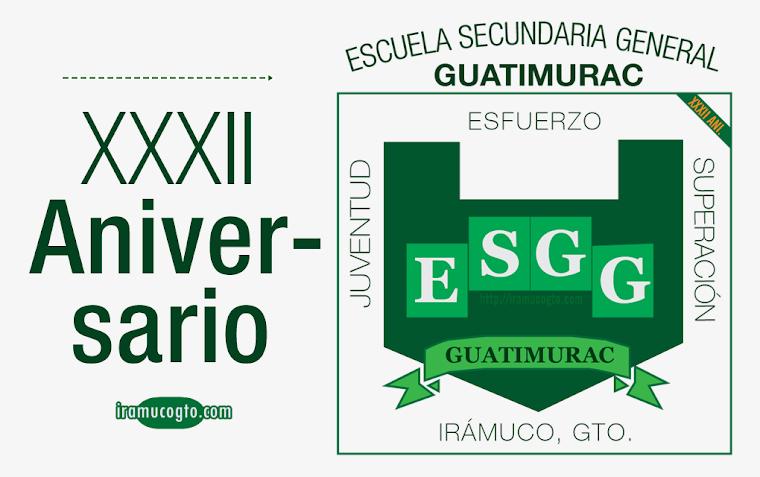 Escudo de la Secundaria General Guatimurac