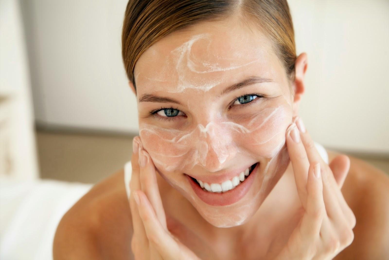 clean skin, healthy skin,