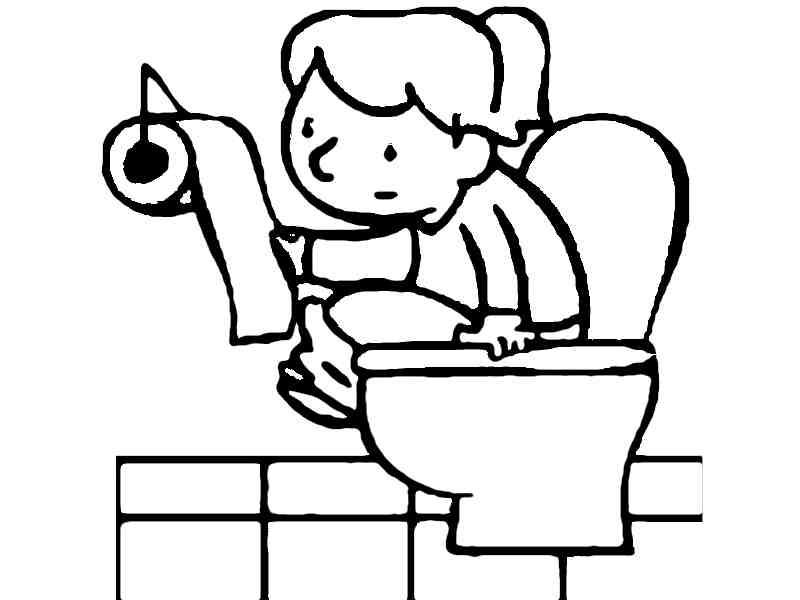 Ir Al Baño Color Amarillo:Ir al baño para colorear – Imagui