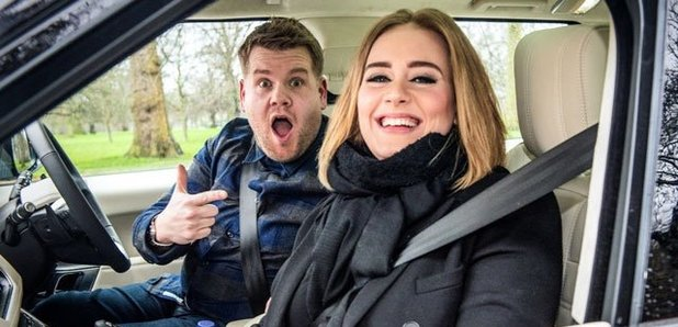 "Mira la participación de Adele en ""Carpool Karaoke"" con James Corden"