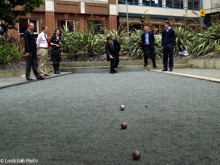 Leeds Bond Court Petanque