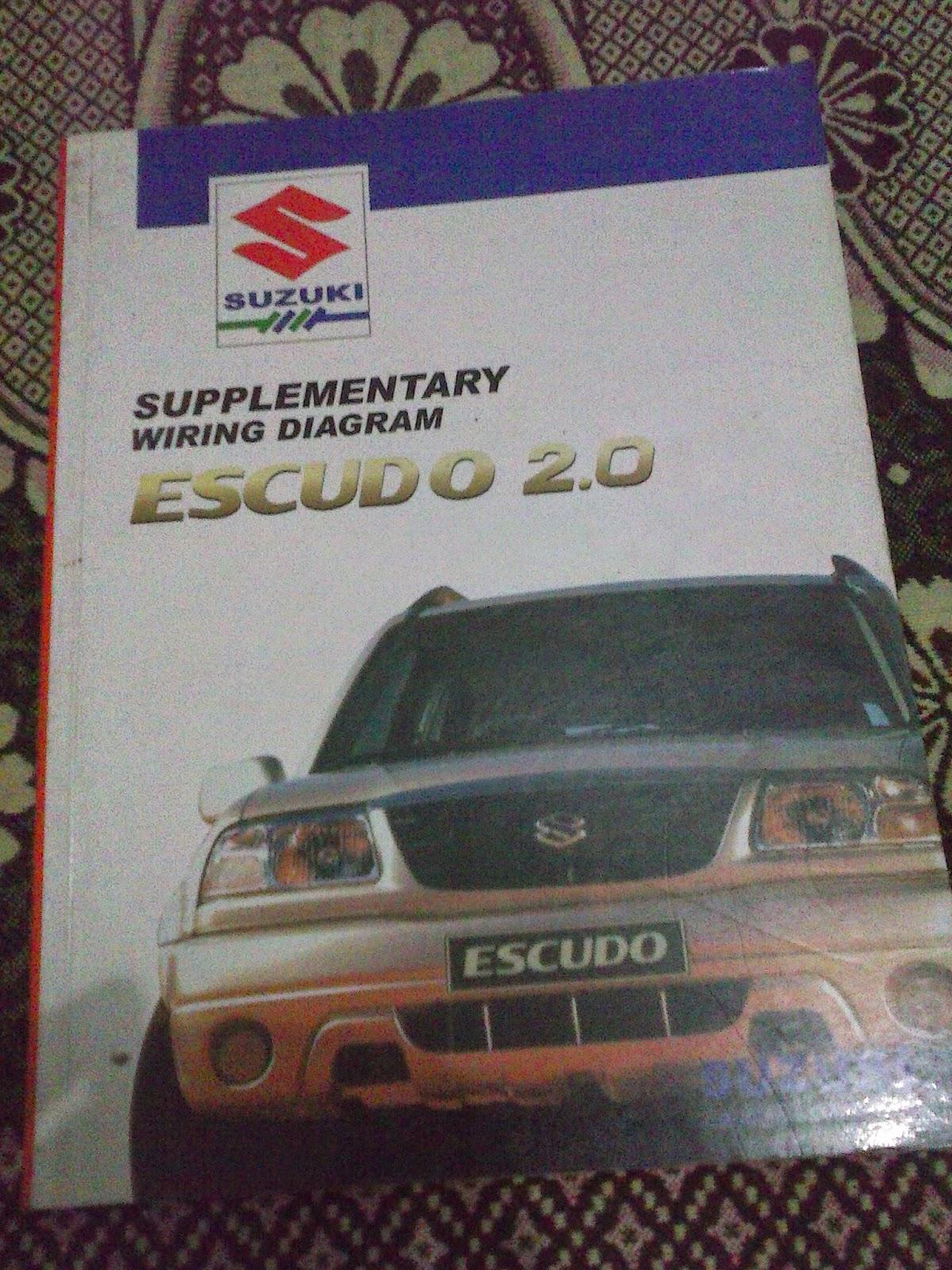 Wiring Diagram Suzuki Escudo 2.0 Rp. 750.000,-