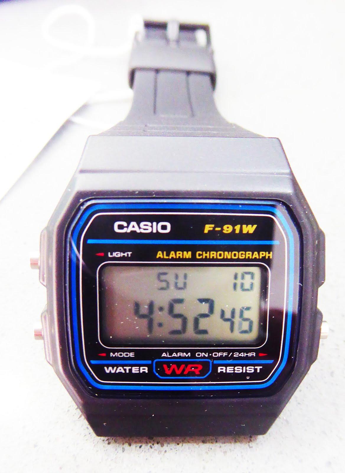 Clásicos Populares, reloj digital Casio
