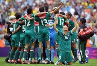 Mexico soccer, Mexico's Men's soccer team, Olympics 2012, Londo Olympics