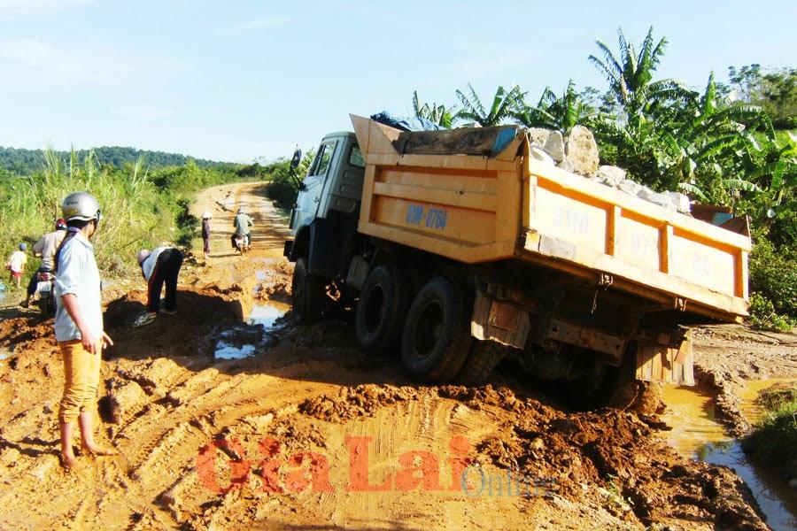 Gia Lai: Hạ tầng giao thông nông thôn - Nỗi lo trong mùa mưa bão