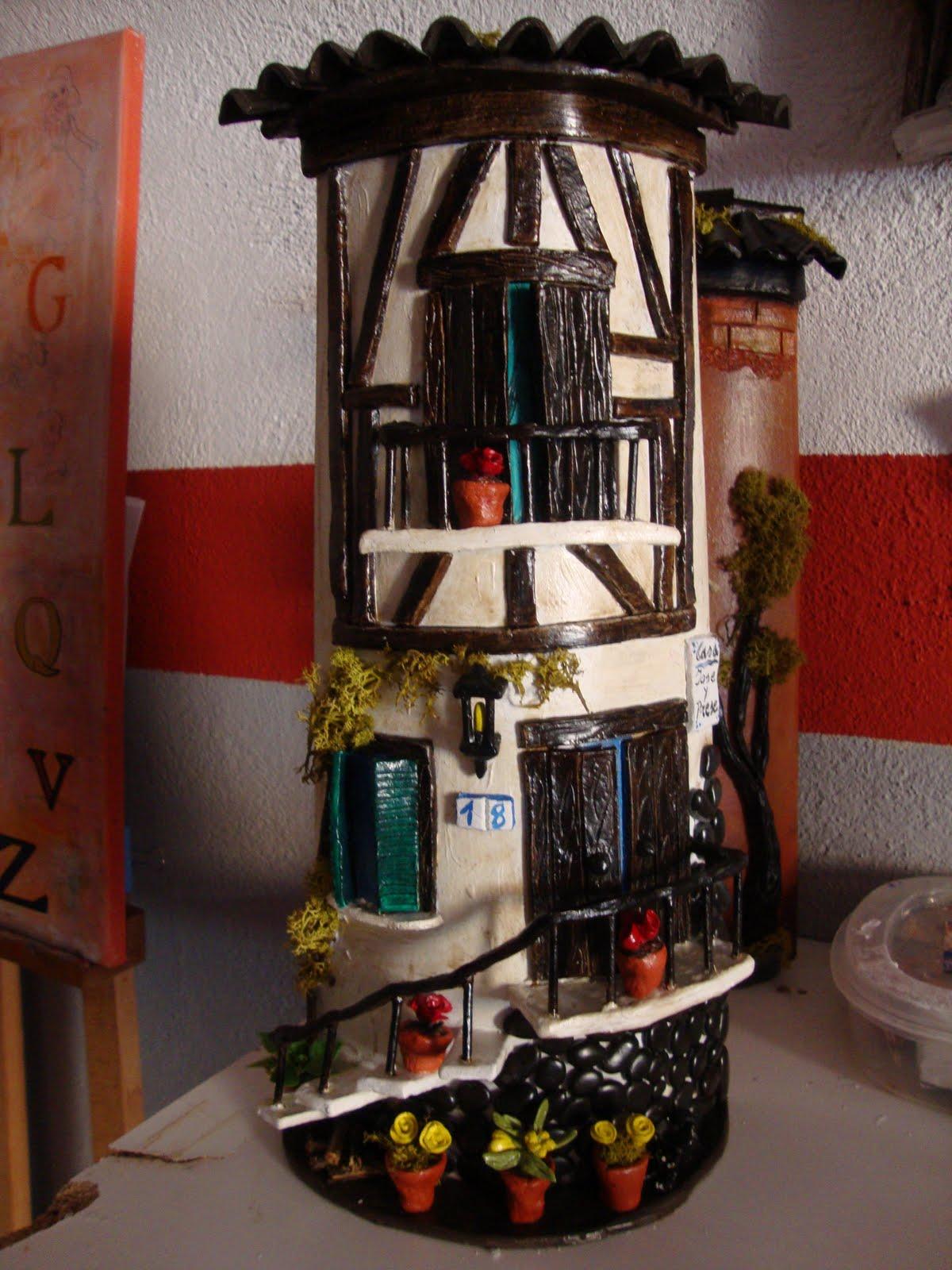 Tejas decoradas teja rustica for Puertas de tejas decoradas