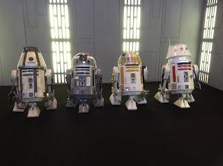 R5-D4, R2-Q2, R4-M9