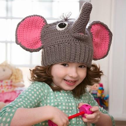 Elephant Hat Free Crochet Pattern