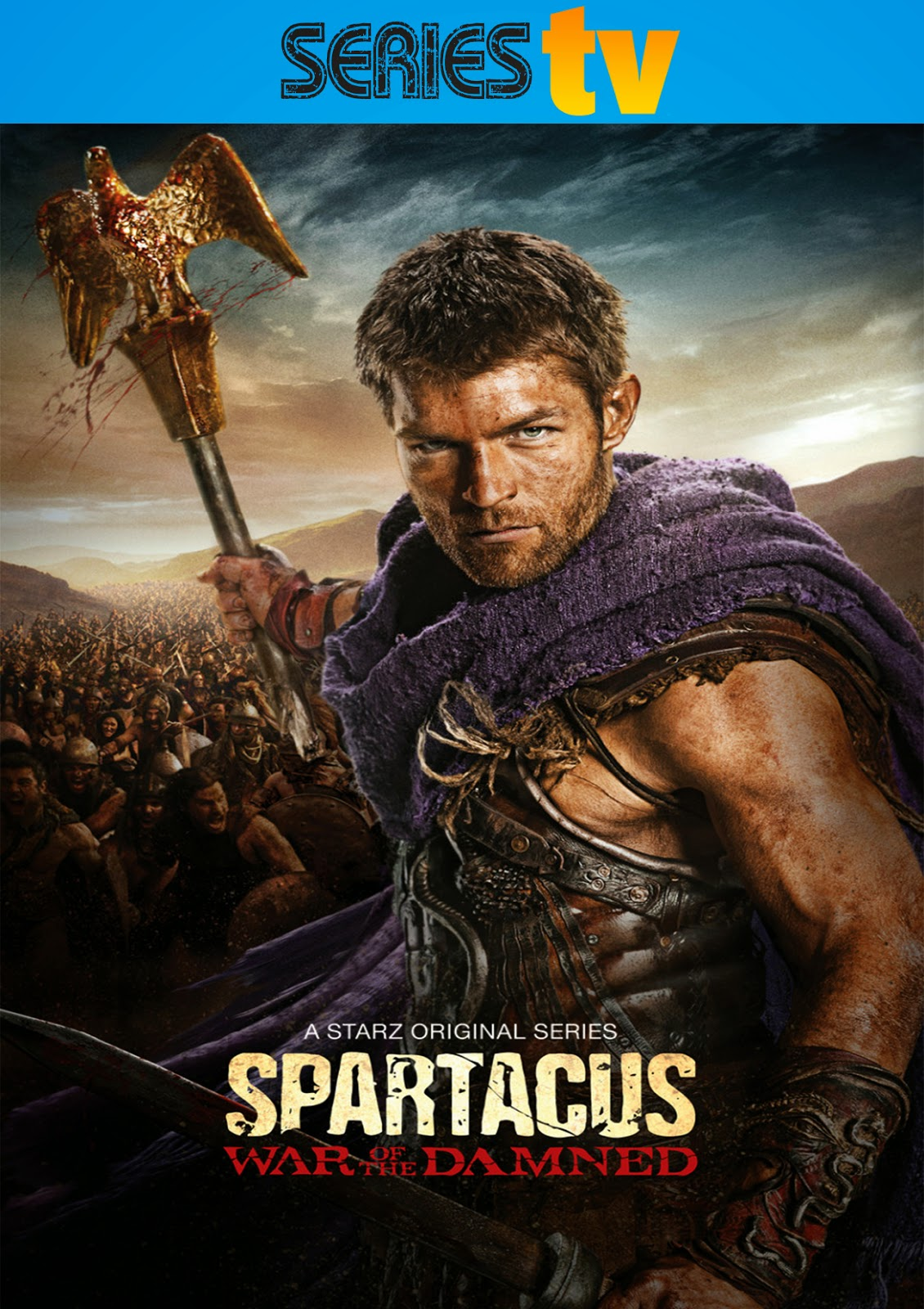 Spartacus: War of The Damned [2013] [Latino] [DVD Full]