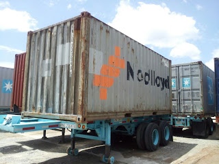 How do you move a ground level shipping container for ...