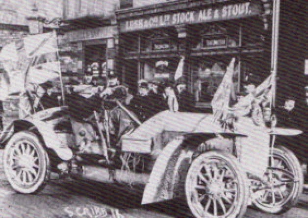 One of the earliest cars in Portsmouth