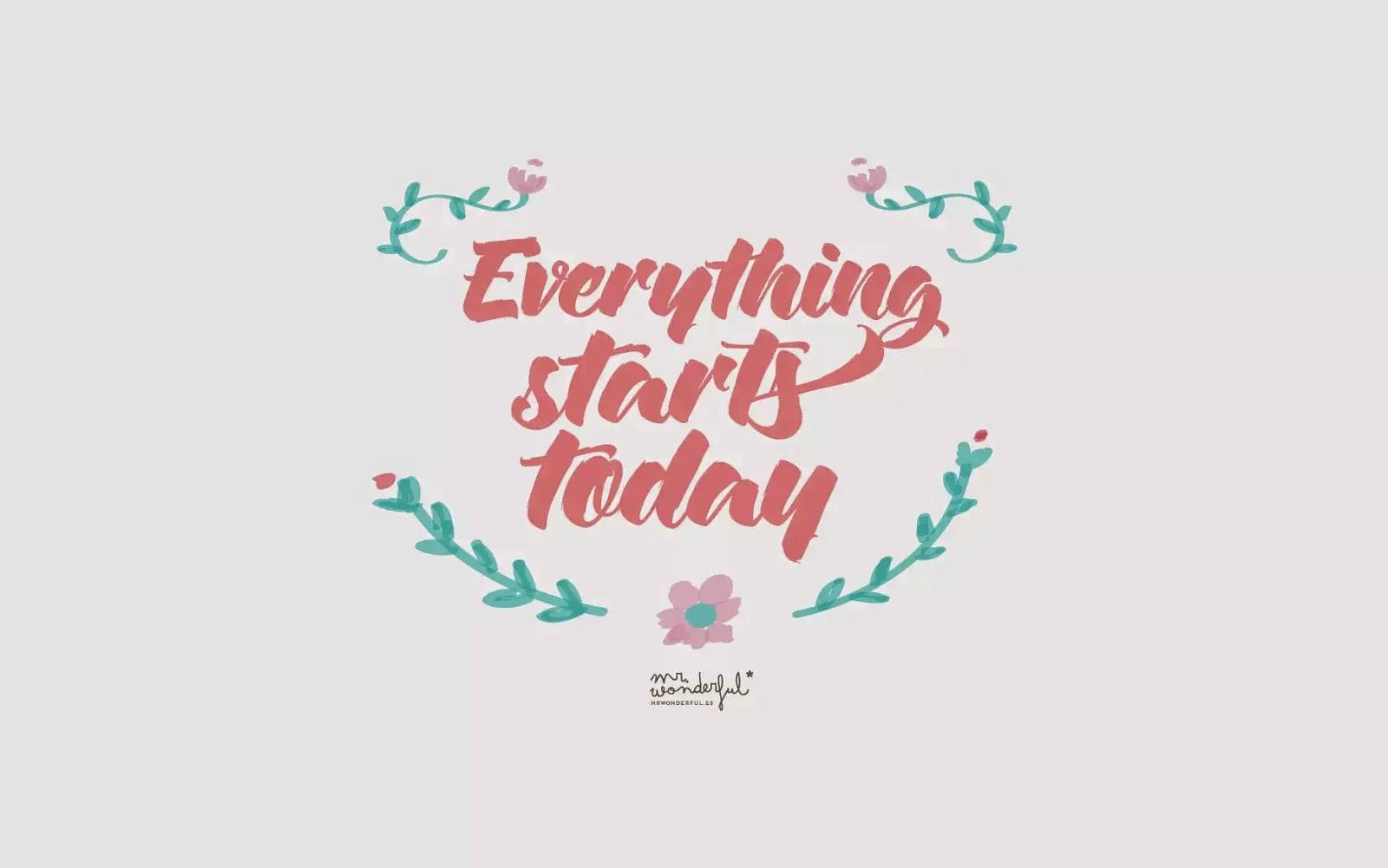 Easy peasy english everything starts today todo empieza hoy for Mr wonderful wallpaper