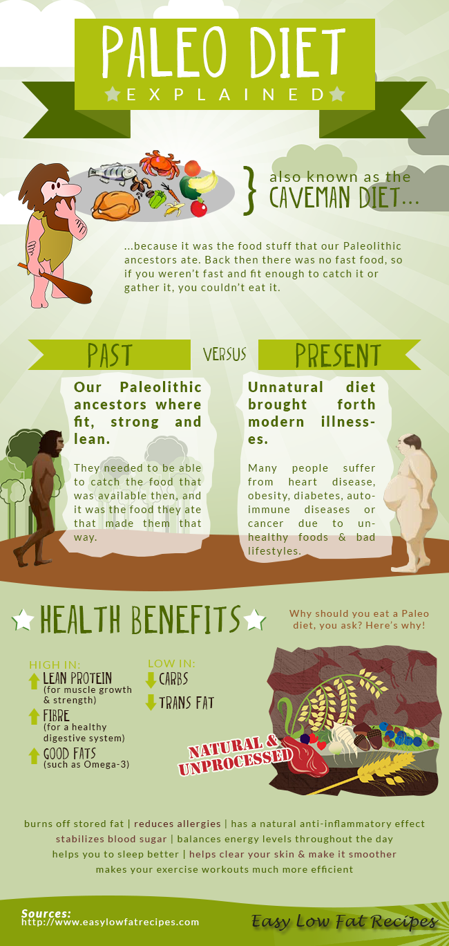 The Paleo Diet Explained 2/4