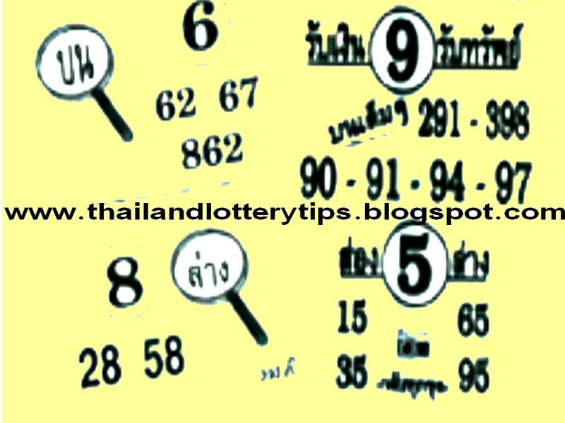 Lotto tips thai lottery tips thailand lottery master tips thai