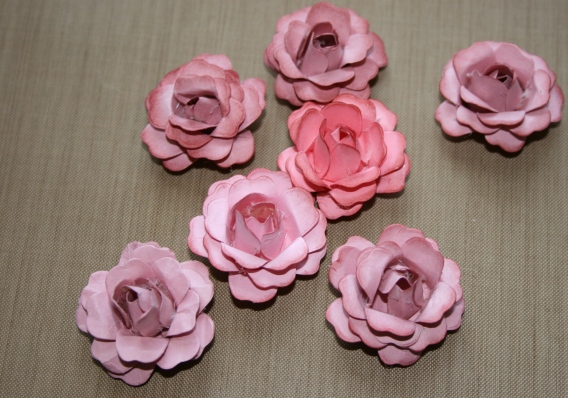 Shabby Beautiful Scrapbooking Shabby Chic Paper Roses Tutorial On