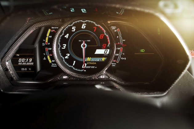 Lamborghini Aventador 'Carbonado' by Mansory dashboard