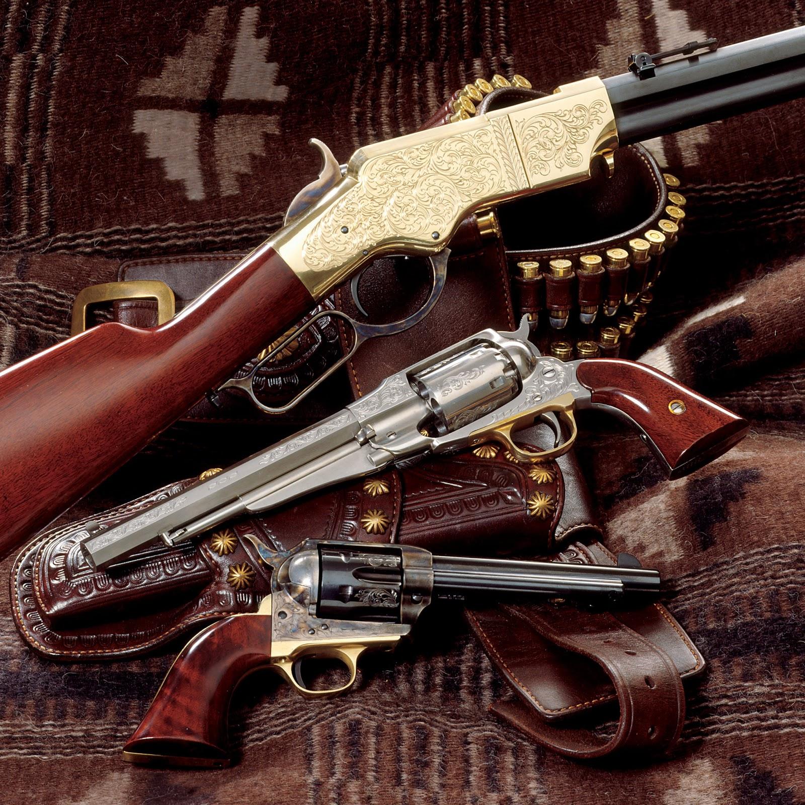 Cowboy Guns Wallpaper Guns & Weapons: Co...
