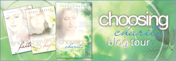 Choosing Charity Blog Tour Banner