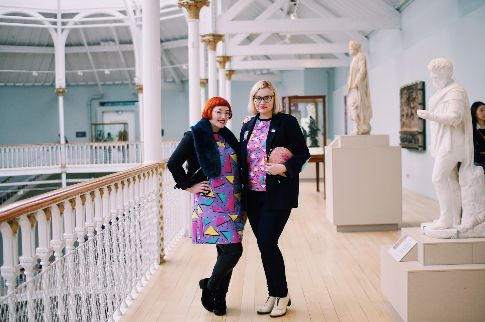 Helen and Kimberley, Wardrobe Conversations, Boya Shen, moveit video project, YouTube, National Museum of Scotland, Edinburgh bloggers, Scottish bloggers,