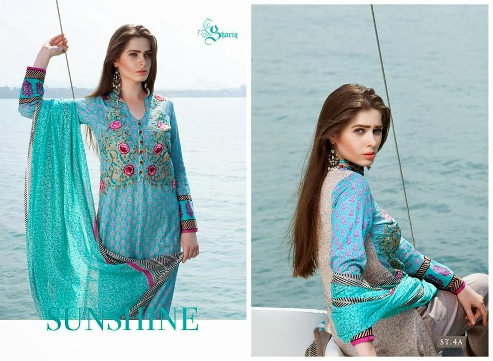 Rabea Designer Embroidered Suits For Women