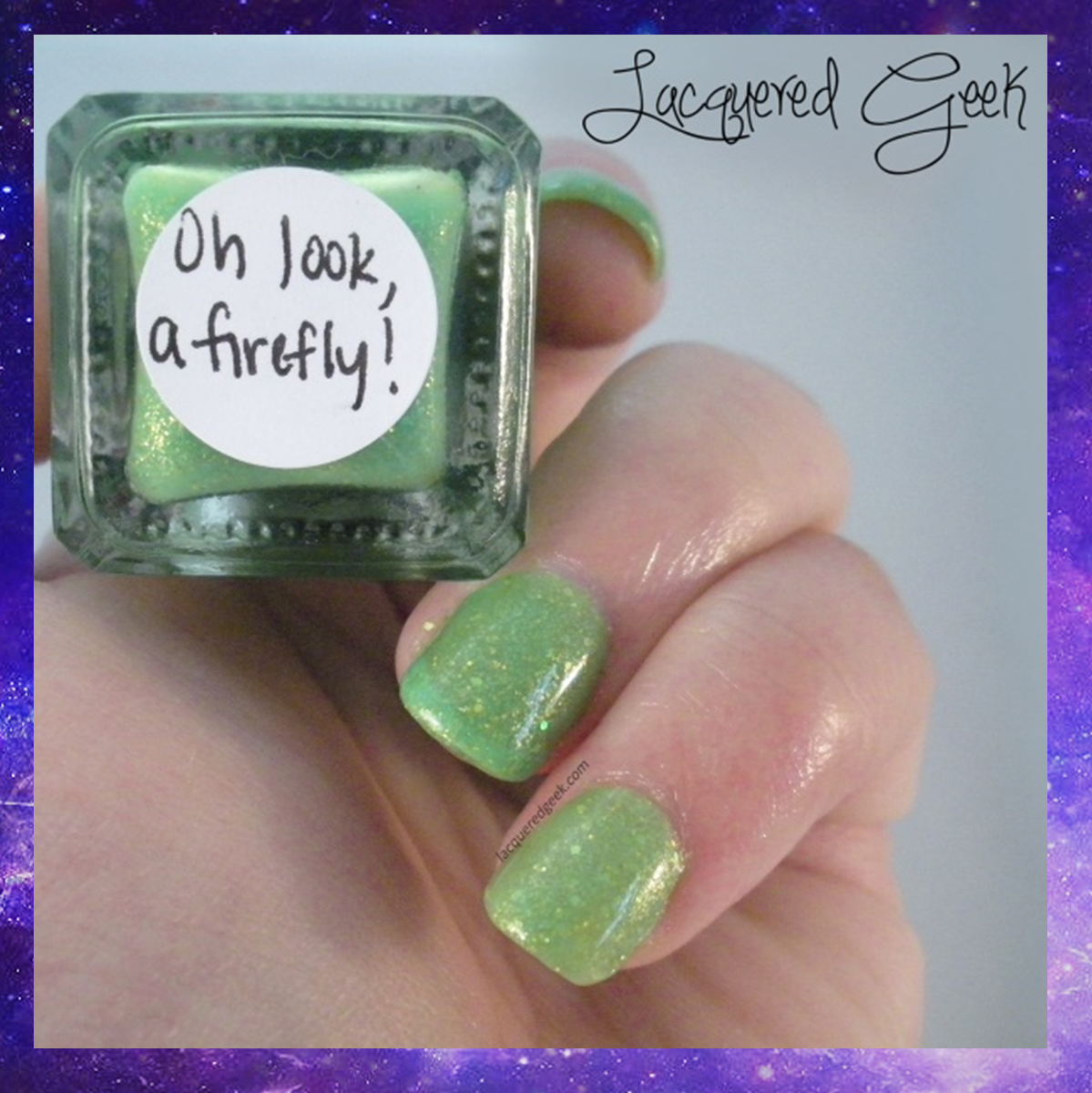 the ladies of peter pan duo sweet heart polish oh look, a firefly