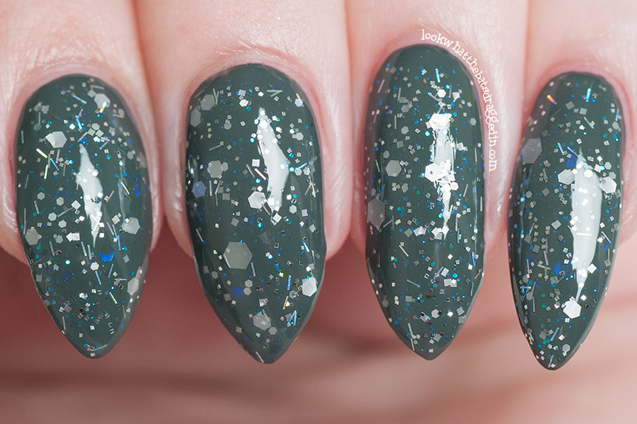 Moonstone Nail Polish Magic Treats collection Sugar Quill Based from Harry Potter