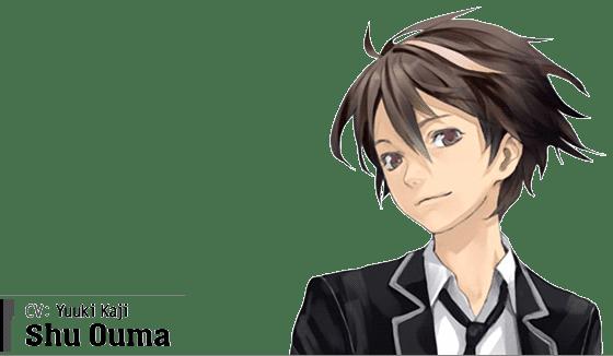 Shu Ouma (CV: Yuuki Kaji)
