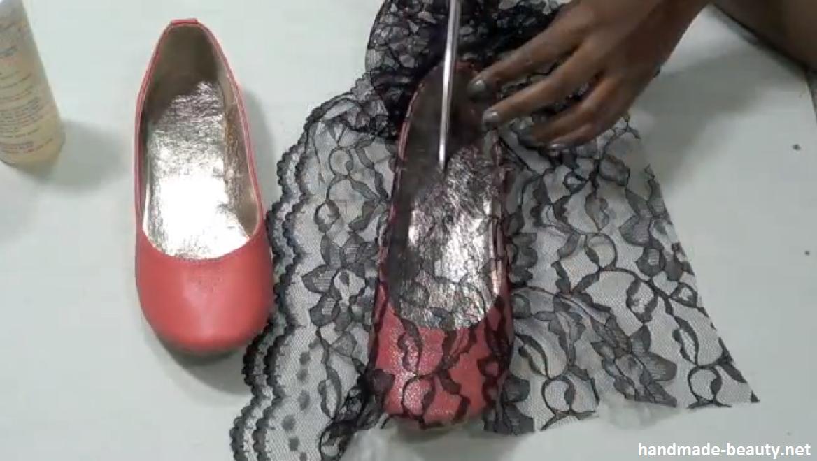 Реставрация детской обуви своими руками декупаж 53