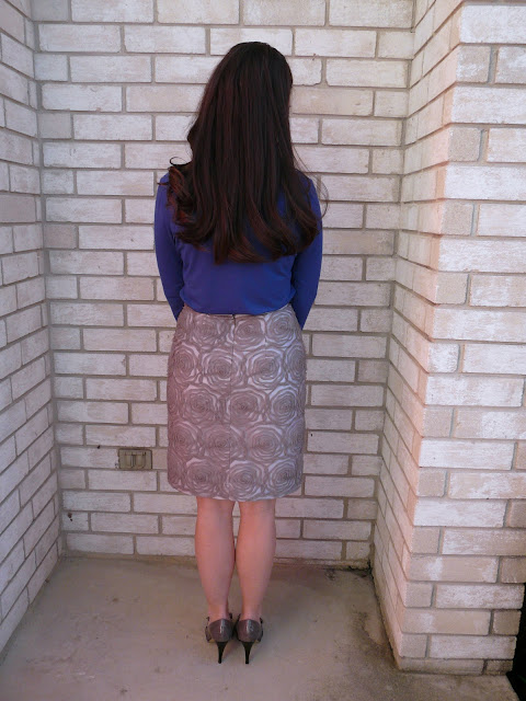Ribbon Mesh Skirt