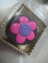 Oreo Chocolate Flower