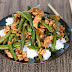 Chinese Green Beans With Ground Turkey Over Rice Recipe