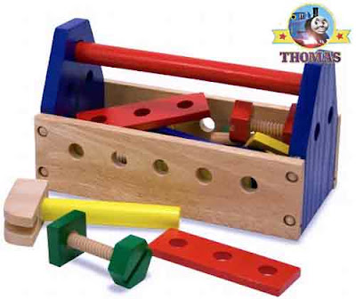 Melissa & Doug Wooden Take along Tool Kit creative constructive learning fun for Toddlers