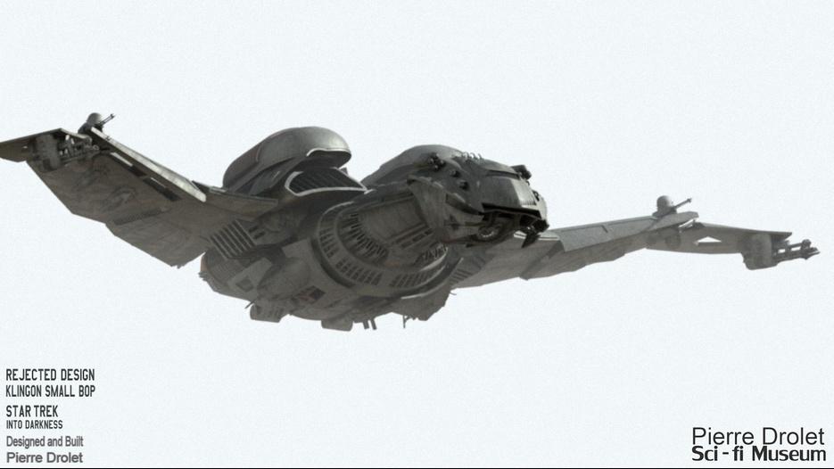 Klingon Ship Into Darkness the redesign Klingon ship