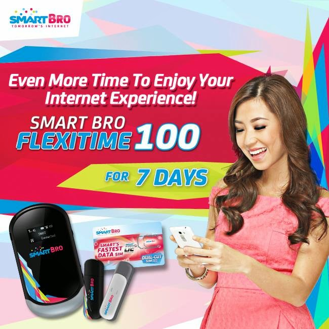 Budget and Control Your Internet Connection with Smart Bro FlexiTime