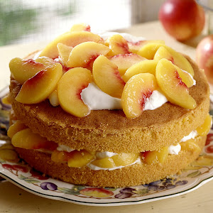 Torta Mimosa alle Pesche
