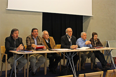 Mesa redonda de asociaciones jacobeas de la provincia de León.