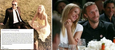 Gwyneth Patrow separates from Coldplay lead singer Chris after 10 years Marriage .