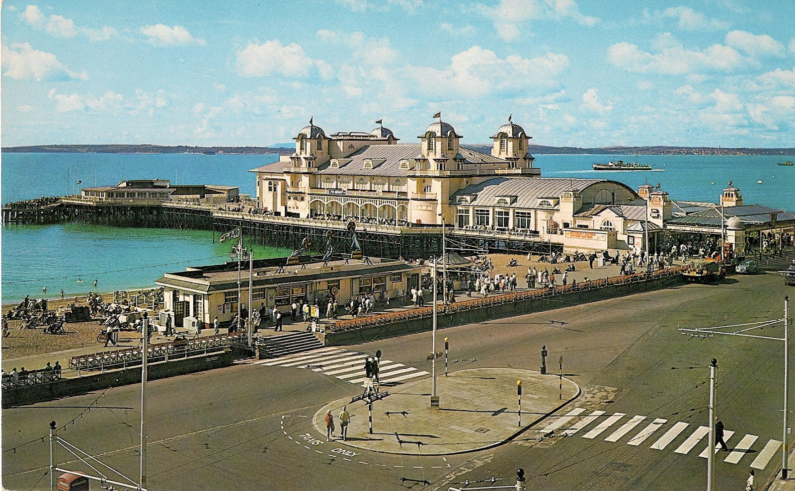 South Parade Pier in the 1950s