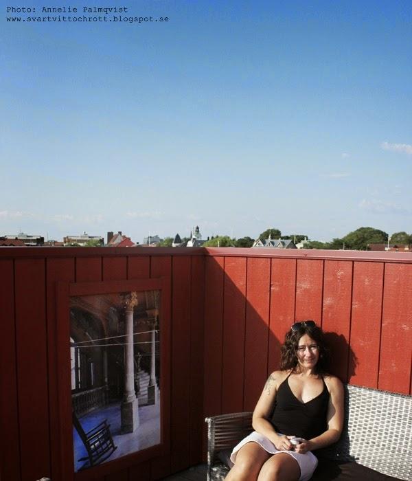 takterass, takterrassen hotell havanna, vy över varberg, varbergs färstning, hotell, kuba, kubanskt, tips