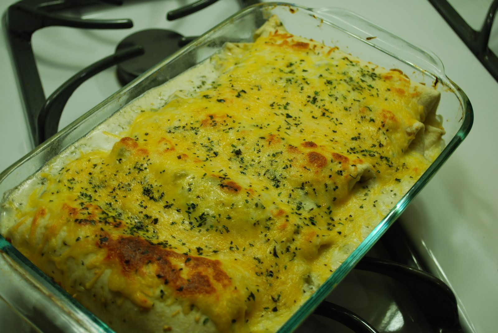 Cooking This and That: Salsa Verde Enchiladas