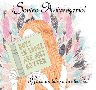 Sorteo 4º aniversario del blog