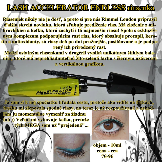 RIMMEL LONDON Lash Accelerator Endless riasenka
