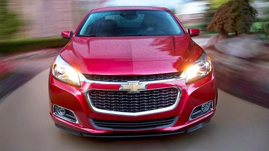 2014 and 2015 Chevy Malibu Leads in Mainstreaming Start/Stop Technology